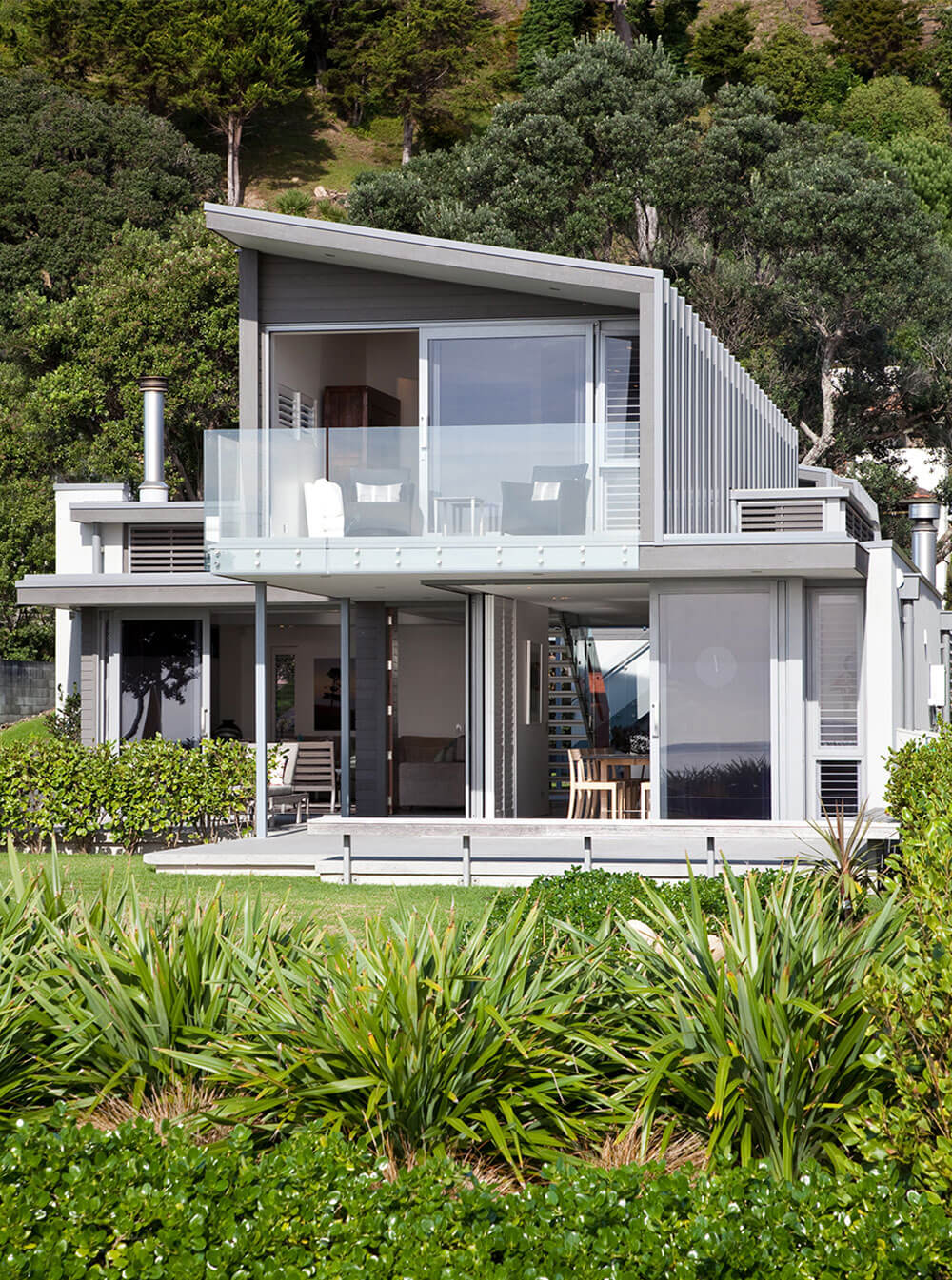 HC Architecture Full home view Waiheke Island
