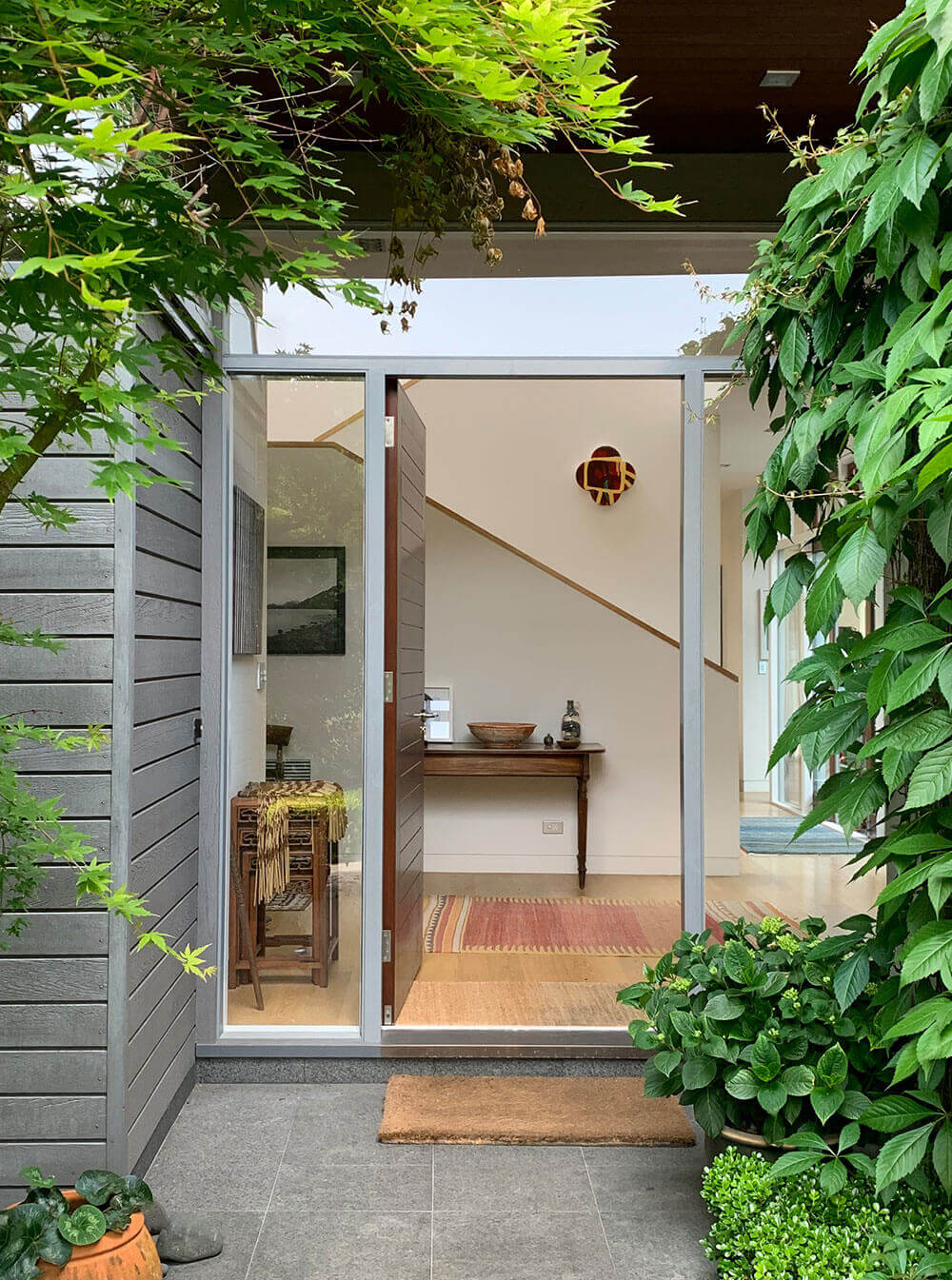 Hamish Cameron Architecture - house entrance